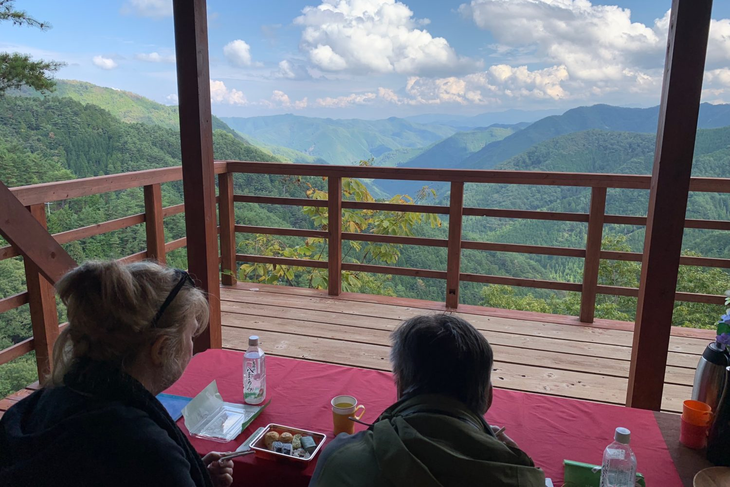 Lunch with superb view! Hiking ancient pilgrimage trail